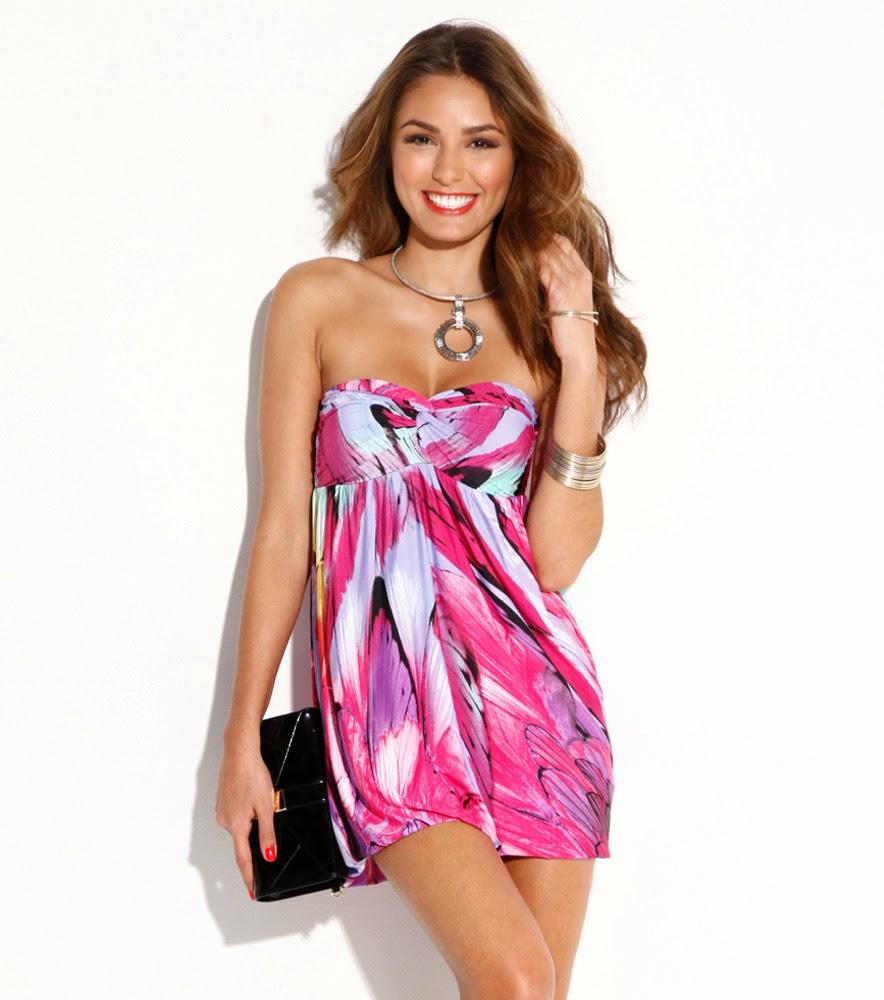 Moda para fiestas : Atractivos vestidos cortos para fiesta ...