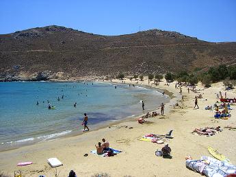 Playa de Serifos - Islas Griegas