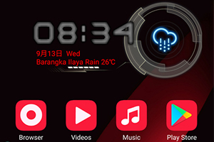 Updated Oppo Themes: F3|F3 Plus Red Edition Theme
