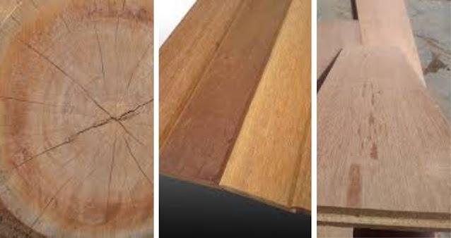 warna kayu keruing