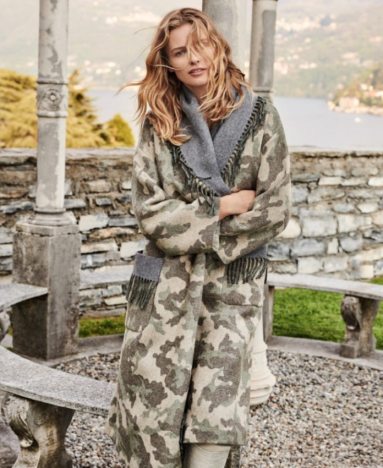 Edita Vilkeviciute stars in Twinset fall-winter 2019 campaign