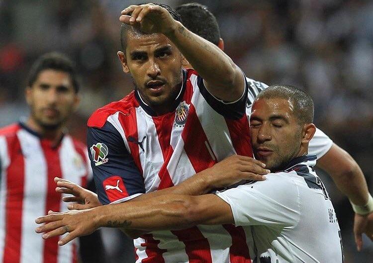 Miguel Ponce ante el Monterrey en Semifinales de Copa MX.