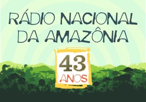 A Rádio Nacional da Amazônia completou 43 anos neste 1º de Setembro de 2020, sua trajetória no ar engloba as emissoras da antiga radiobrás, atual EBC.