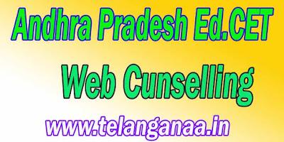 Andhra Pradesh AP Ed.Cet Web Cunselling APEd.Cet Cunselling