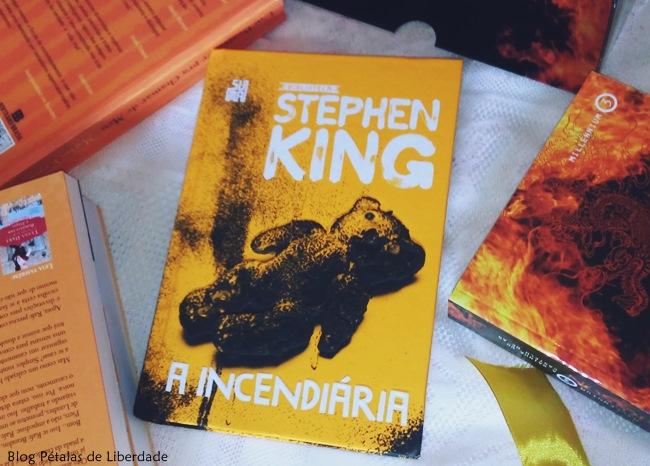 Resenha, livro, A incendiária, Stephen King, Suma, blog literario, petalas de liberdade