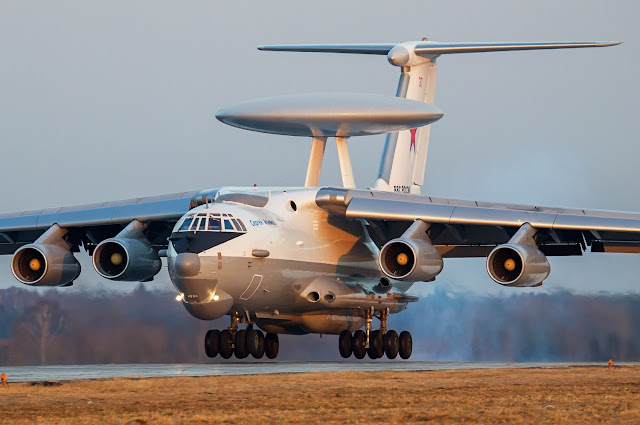 Beriev A-50 Mainstay of Russian Air Force AWACS