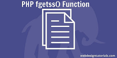 PHP fgetss() Function