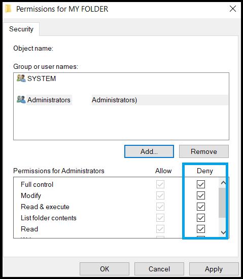 Change_Folder_Permission_Method_To_Lock_Folder