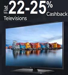 LED Television: Upto 53% Off+ Extra 22% to 25% Extra Paytm Cashback