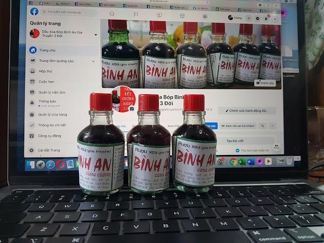 Combo 50 Chai Dầu Xoa Bóp Bình An Công Chính (27k/chai)