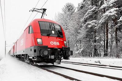 القطارات في النمسا,