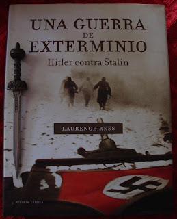 Portada del libro Una guerra de exterminio, de Laurence Rees