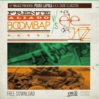 """12"""" Ninjazz - 12"""" Ninjazz Presenta: Frente Aliado Boom Bap Vs. El Eje Del Jazz (2013) (Venezuela)"""