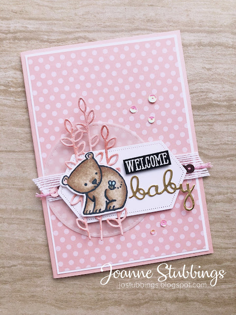 Jo's Stamping Spot - Colour INKspiration Challenge #058 using Well Said Bundle and A Little Wild by Stampin' Up!