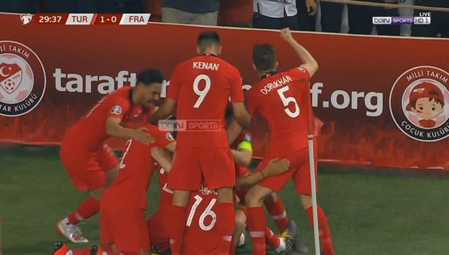 اهداف مباراة فرنسا وتركيا (0-2) تعليق حفيظ دراجي