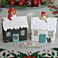 Tiny House Paper Ornaments