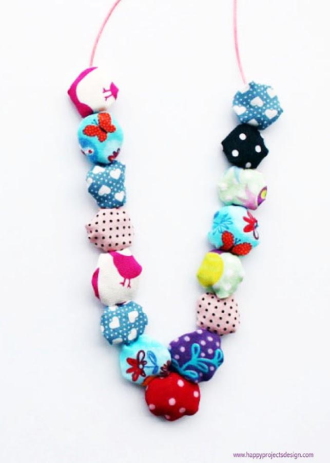 DIY: collar con retales de tela
