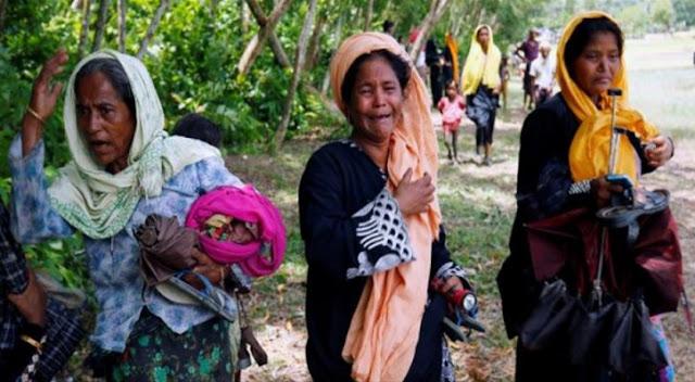 Inalillahi, Nasib Pengungsi Rohingya: Diusir Bangladesh, Dibunuhi Penyakit