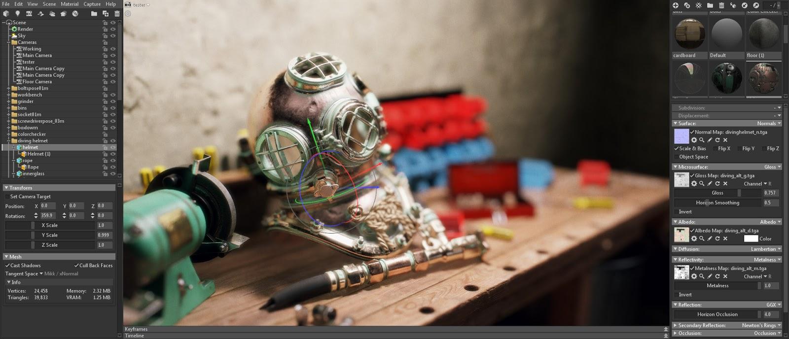 تحميل برنامج Marmoset Toolbag 3 0 2 كامل + الكراك - CG ART