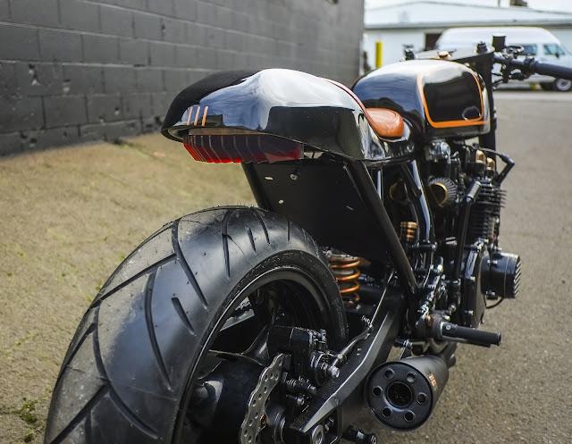Kawasaki KZ1000 By Nova Motorcycles Hell Kustom