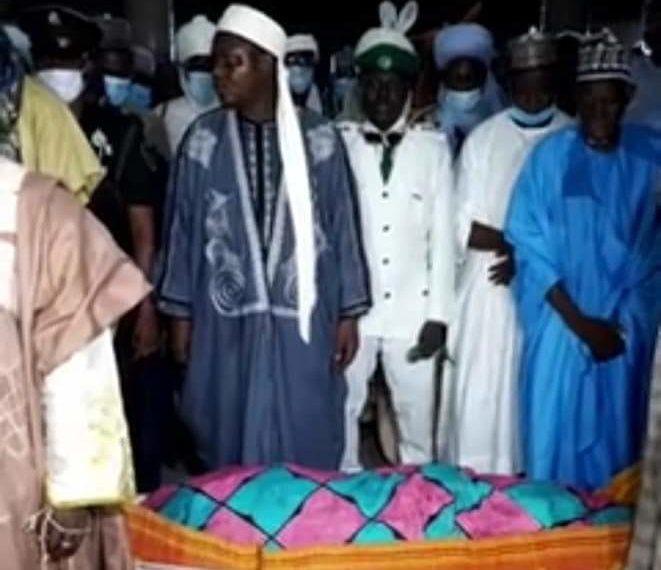 Ex Minister, Aisha Alhassan Buried in Jalingo