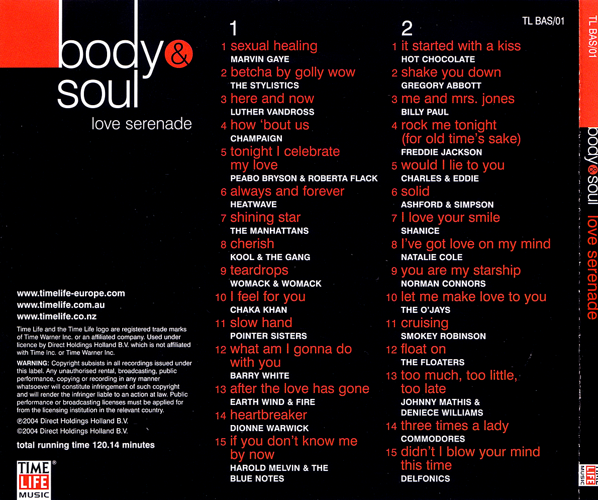 time life body and soul collection download