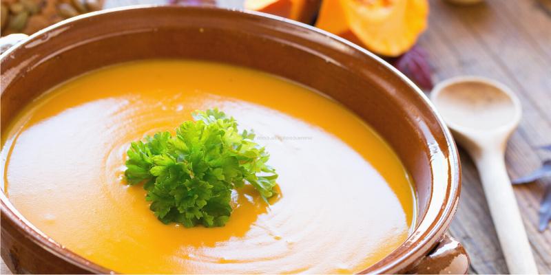 Pumpkin cinnamon soup