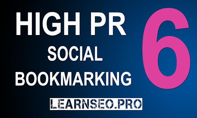 DA 60 Social Bookmarking Sites