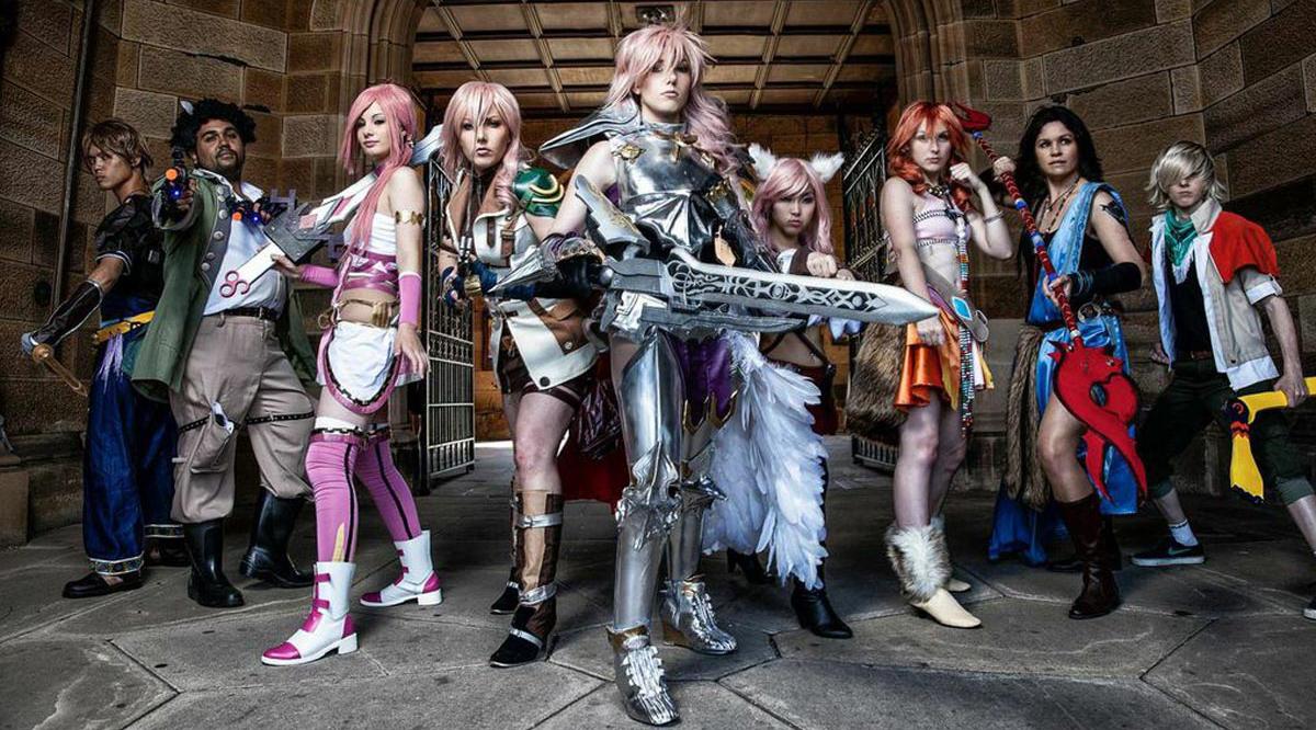 Cosplay Final Fantasy terkeren dan terbesar