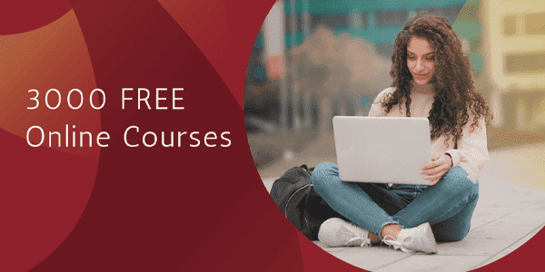3000 free Online Courses with Certificates in English