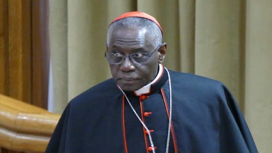 Cardinal Sarah stands firm against the Pope