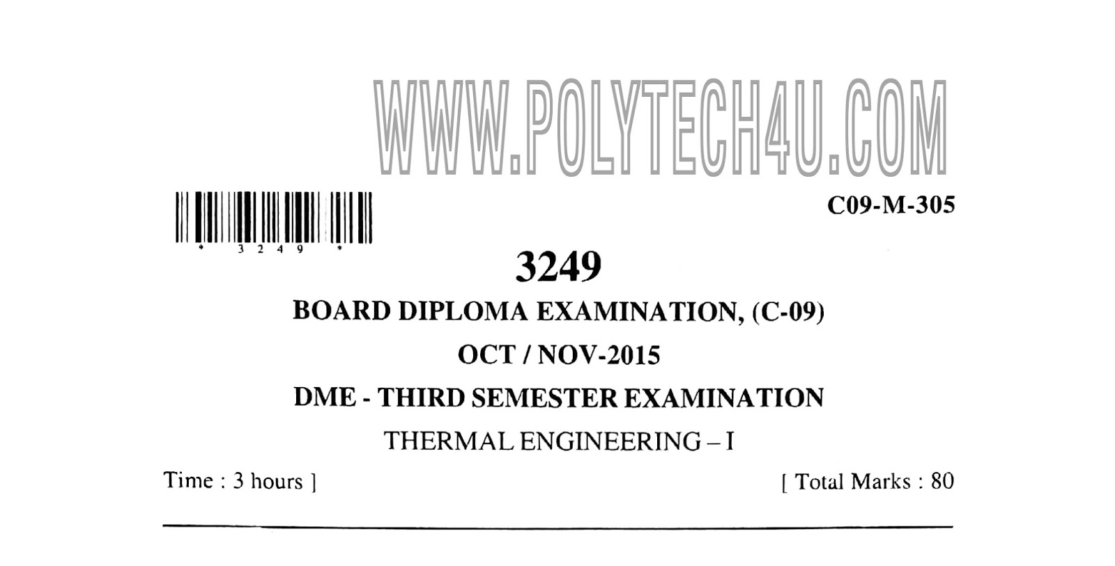 Polytechnic Paper Pdf