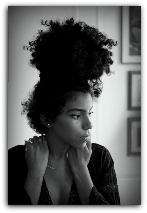 Beautiful Natural Hair Up-dos