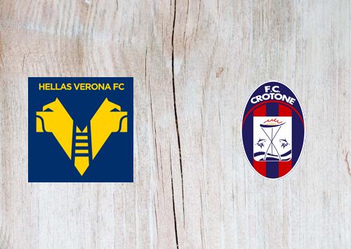 Hellas Verona vs Crotone -Highlights 10 January 2021