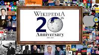 Wikipedia 20th Anniversary poster
