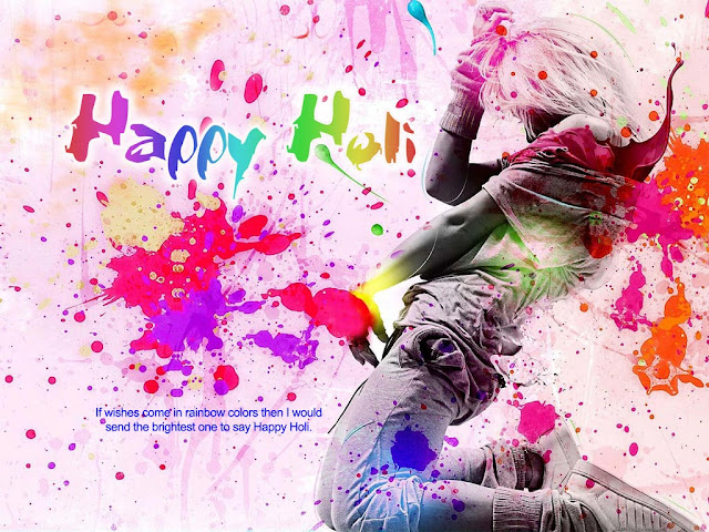 Happy Holi Art Images