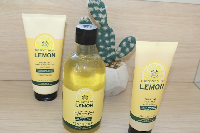 Ma nouvelle routine anti bactérienne au citron The Body Shop