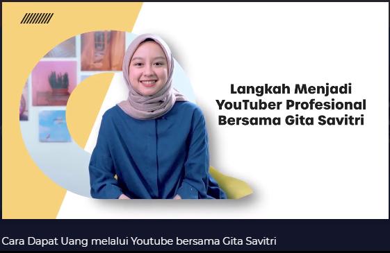 Belajar Jadi Youtuber di Skill Academy Aja