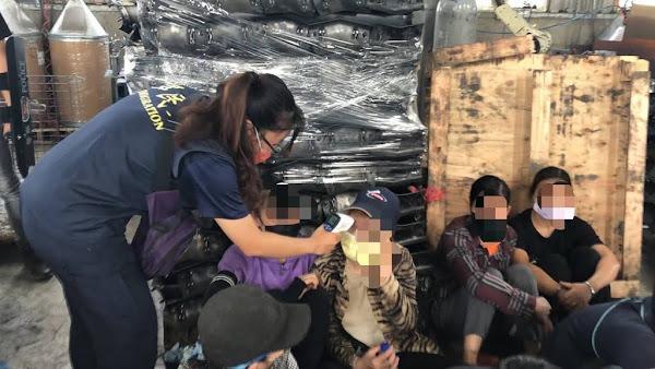 彰化囂張工廠全聘黑工 移民官扮農夫蒐證逮35名非法移工