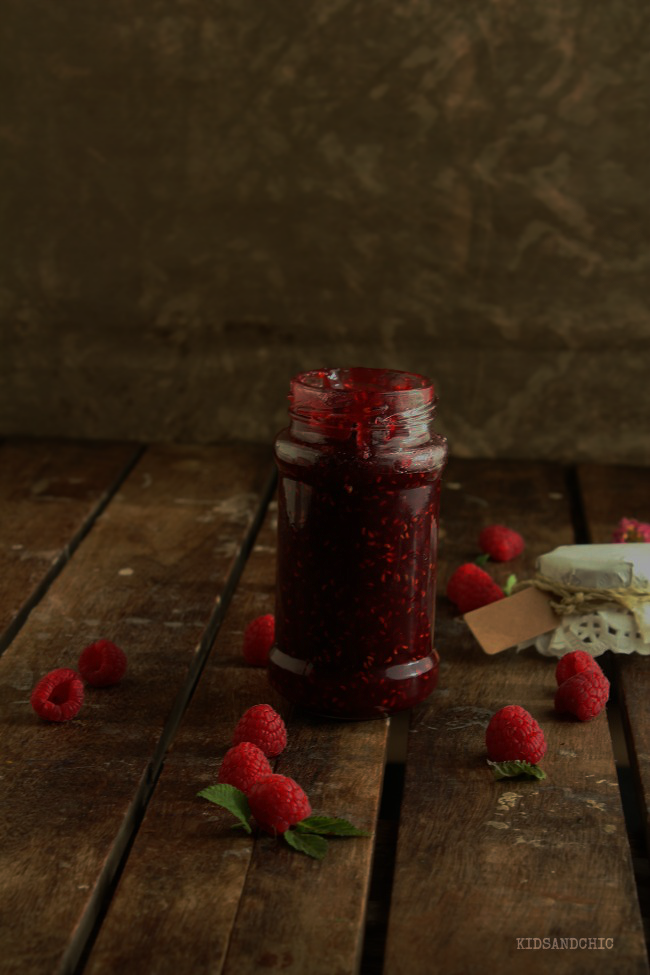 mermelada de fresas y rosas kidsandchic