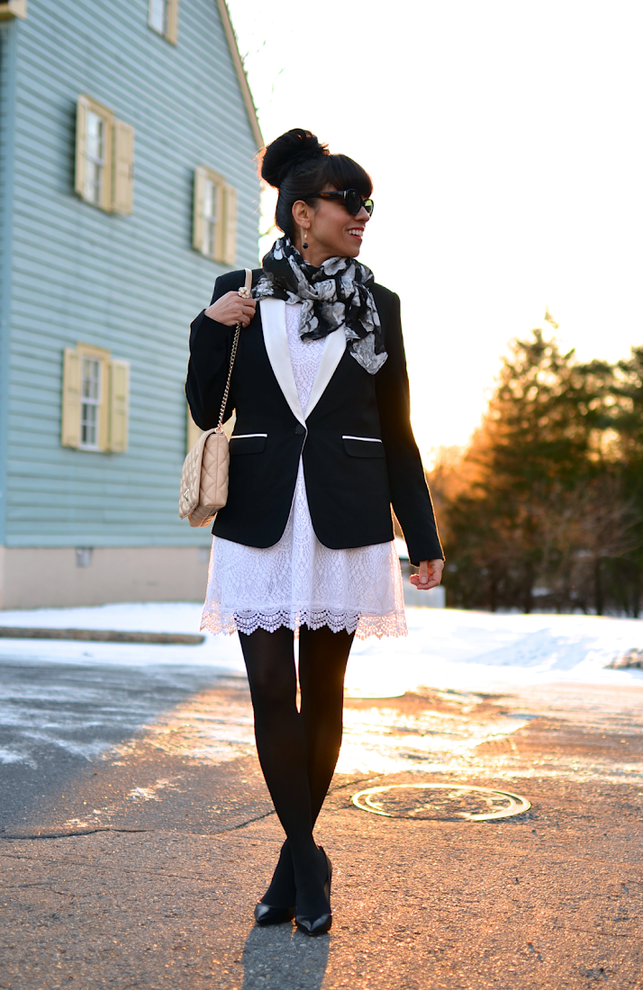 Outfit with neutral colors