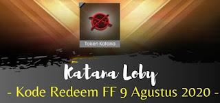 Kode Redeem FF 9 Agustus 2020