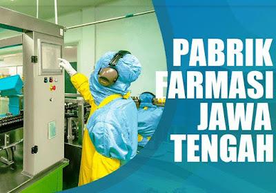 daftar perusahaan farmasi Jawa Tengah