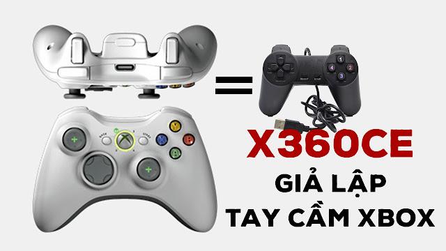 """Tải phần mềm x360ce - Giả lập tay cầm Xbox cho tay cầm """"tàu rẻ tiền"""""""