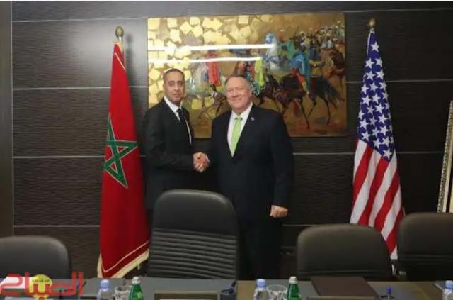 وزير الخارجية الأمريكي في ضيافة الحموشي