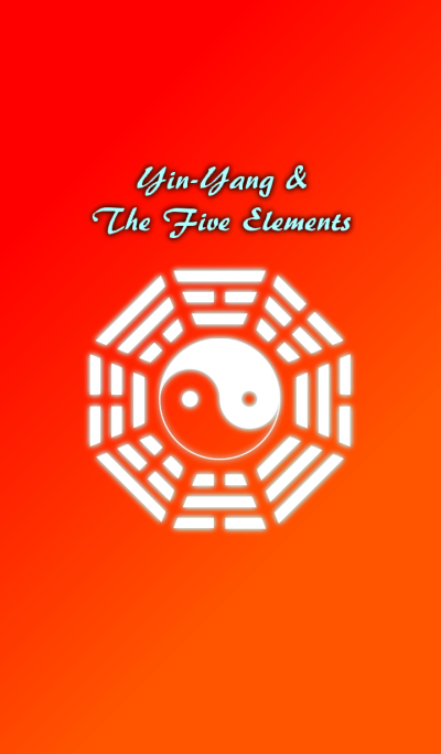 Yin-Yang and the five elements-Red