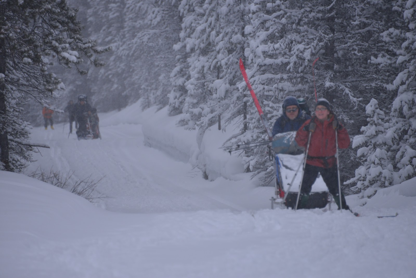 Family Adventures in the Canadian Rockies: March 2013