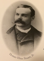 Head and shoulders image of Homer Hine Stuart Jr. in the late 1800s.
