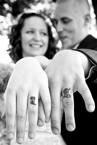 ślubna Wzorcownia Tatuaż Zamiast Obrączki