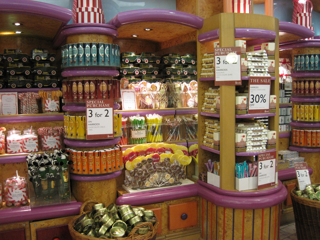 Harrods Food Hall Sweet Shop